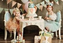 Kid's Party Time / Ideas for celebrating children's birthdays - decor, food, favors, themes and more
