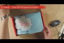 Paper Pumpkin / Everything Paper Pumpkin