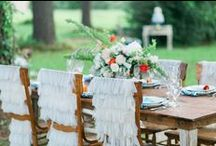 Boho Linen Inspiration / Bohoemian wedding and event inspiration by House of Hough.
