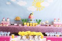 Baby Shower Linen Inspiration / Baby shower linen inspiration by House of Hough.