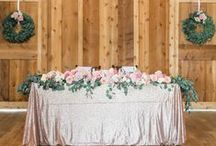 Rustic Linen Inspiration / Rustic wedding and event linen inspiration by House of Hough.