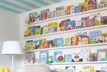 Book Nook / Ideas for creating the ideal book nook space for kids