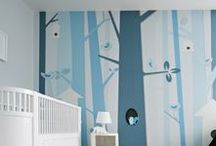 Wall Treatment for Children's Rooms / Murals and art installations for children's rooms
