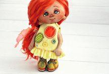 Текстильные куклы / Автор Yalodolls