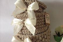 LUMi handmade - košíky / Ručne háčkovane košíčky na rôzne drobnosti, kľúče, kozmetiku, hračky,...