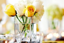 """Centerpieces / """"Flowers are the sweetest things God ever made, and forgot to put a soul into."""" ~ Henry Beecher"""