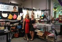 Miche Events and Shows / www.michebag.ca Show displays