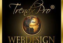 Webdesign-TrendxPro / Design elements, Graphics, Webdesign, Nice Websites