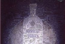 Absolut Vodka Ads / by Gale Stanley