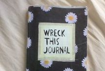 Wreck this journal / Různorodé WTJ z celého světa =)