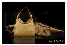 KHARI HANDBAGS / Manufacture Exclusive Ostrich Leather Goods