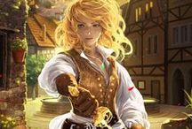 Wojowniczki - białowłose /blond