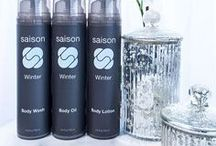 Winter Body Collection / Saison offers a full range of body products that are luxurious, invigorating and nourishing. This collection features an energizing, spicy, citrus Winter scent made with a special blend of pure essential oils