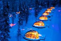 glass igloos, northern lights &  lightning, watches, churches & little Pata / by Tamta Gelovanny