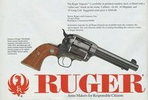 Vintage Ruger Ads / Early firearms ads from about 1949 through the 90's.