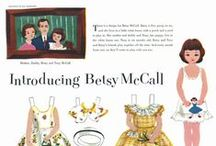 Paper Dolls / Vintage paper dolls - Betsy McCall, Katy Keene & more