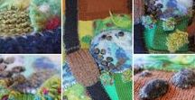 Knit and Felt Playscape Mats