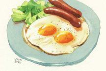 ~ food illustration ~