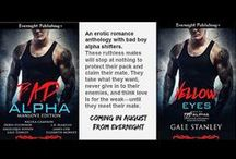 Bad Alpha / An erotic romance anthology from Evernight Publishing featuring bad boy alpha shifters.