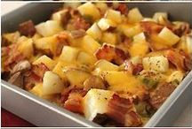 Casseroles / I Love Casseroles!!! I always make an extra one to freeze for nights I don't (or Can't) cook.