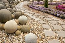 Gardening: Paths and Globes