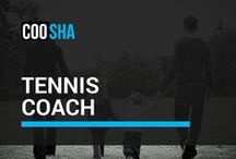 Tennis Coach / To help children learn the fundamentals and gain some helpful hints.