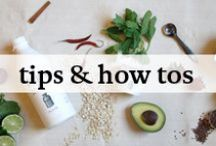 Healthy Tips + How-Tos / Niffty food & health tips and and how-tos to make our lives a little easier.