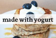 Made with Yogurt / Delicious recipes made with yogurt!