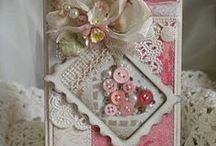 Shabby Chic Cards / Shabby looking cards for that very special person
