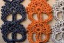 Diferentes puntos a crochet