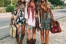 Boho Chic & Street Style / Fashion | boho chic | Street style | look of the day