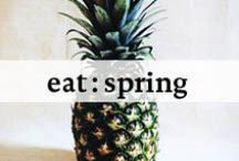 Eat Seasonal: Spring