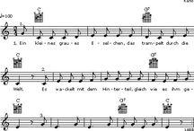 Lieder für Kinder / Texte, Noten, Videos