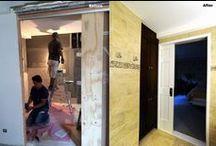 Before & After / Before & After - #Remodeling #renovation #bathroom #kitchen #home #livingroom #design #décor #interior