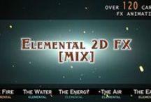 2d FX cartoon animation