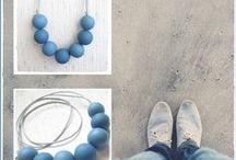 Sfere de culoare / Colorful Bubbles / Bile mari realizate manual din pasta polimerica Sculpey, asezate cuminti pe snururi de ata cerata sau piele. Combinatiile de culori sunt infinite. Colierele acestea te vor binedispune.      /     Sculpey Beads on leather or cotton strings. Colour combinations are endless. These necklaces will cheer you.