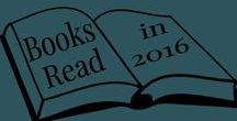2016 Reading / What I have read in 2016
