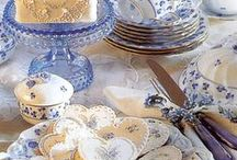 Tea Time & Tasty Tidbits / Even before I started writing Regency and Historical Romance I adored anything to do with tea. There's something so romantic about a pretty tea cup!
