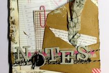 Scrapbooking  / My works