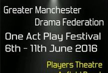 GMDF One Act Play Festival / The 56th One Act Play Festival will be 5th - 10th June 2017 at CHADS Theatre, Mellor Road, Cheadle Hulme. SK8 5AU Full details on website www.gmdf.org
