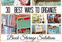 Home organizing and cleaning ideas / Ideas and tips to keeps your home neat, organized, and clean.