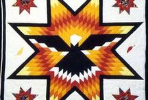 Star Quilts / For many Native Americans, the star is a sacred symbol, equated with honor. The belief is a respected and longstanding tradition, inherited from their ancestors. The Assiniboine and Lakota Sioux Indian nations of Eastern Montana and North and South Dakota had a spiritual belief in the stars, especially in Venus, whose reflected light made it one of the brightest objects in the night sky with the appearance of a star.