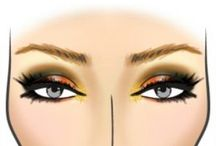 Glamzy Face Charts / Face charts created with Glamzy