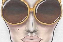 Glamzy 2 Face Charts / Learn more at 2.glamzy.com