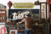 Lowbrow, One Shot, Pinstriping, Sign Painting.... / by Craig Mullins