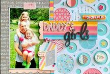Scrapbook pages and layouts / General theme scrapbooking, I have separate boards for Christmas and fall theme scrapbooking, so go ahead and check them out!