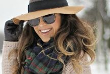 Winter styles for warmth... / Even in Winter we can look stylish and gorgeous!