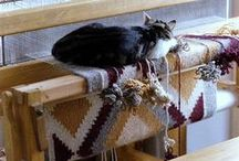 The Weaving Loom. Ткачество на стане