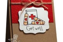 Sympathy, get well, and other encouragement cards and tags / Thinking of you, get well, and encouragement cards and tags