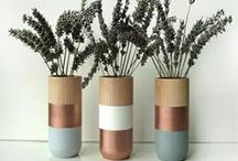 wooden planters / wooden indoor planters **collection by the planter pod**